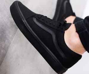 basket, black, and chaussures image