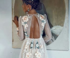 dentelle, dress, and lace image