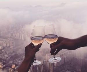 drink, couple, and luxury image