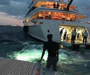 luxury and yacht image
