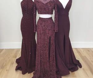 beauty, long dress, and pretty image