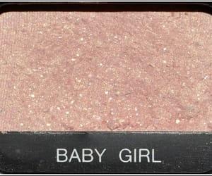 pink, baby girl, and makeup image