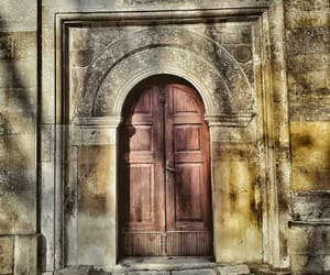 architecture, church, and door image