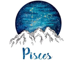 astrology and pisces image