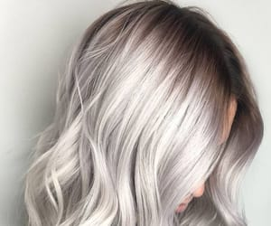 fashion, hairstyle, and haircolor image