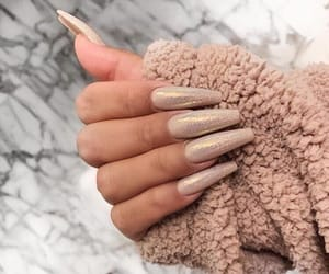 nails, glitter, and inspiration image