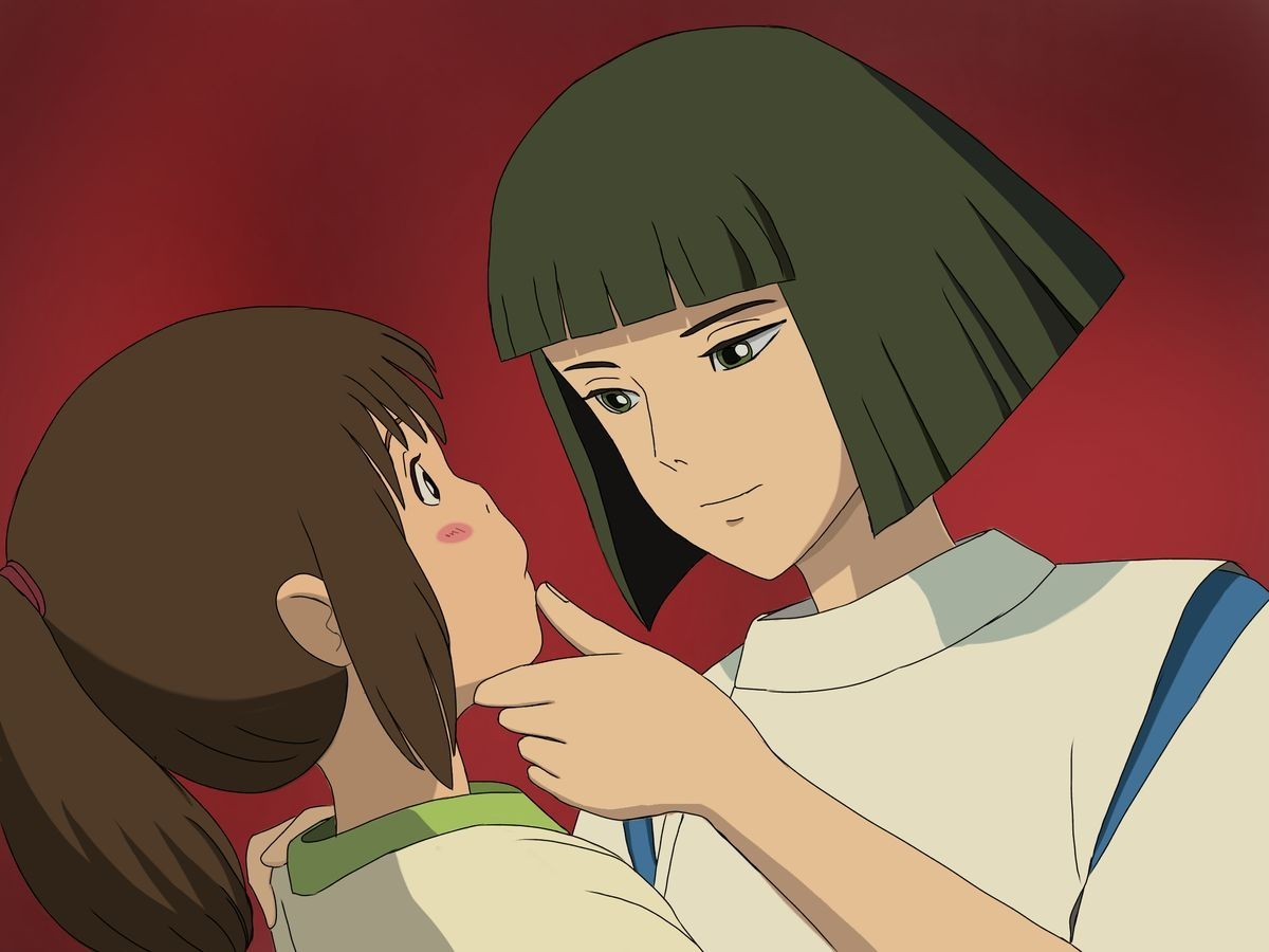 28 Images About Chihiro Is A Mood On We Heart It See More About Spirited Away Chihiro And Studio Ghibli