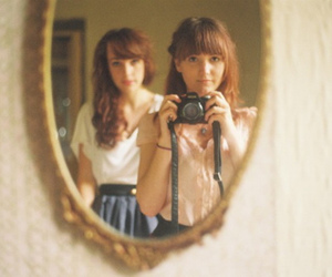 mirror, camera, and photography image