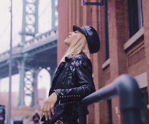 biker, new york, and girl boss image
