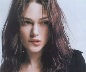 beauty, keira knightley, and makeup image