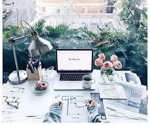 aesthetics, decoration, and desk image
