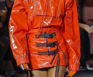 aesthetic, orange, and runway image