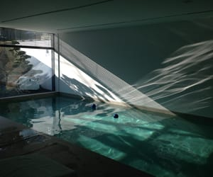 pool, home, and interior image