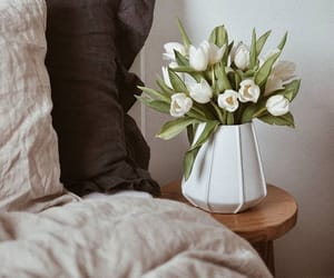 decorating, flowers, and room image