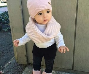 girl, baby, and fashion image