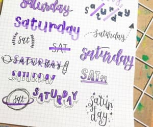 journal and lettering image