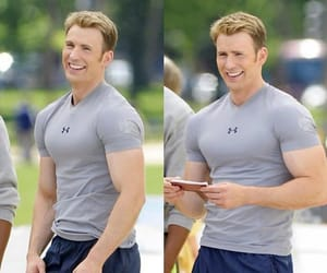 actor, celebrities, and captain america image