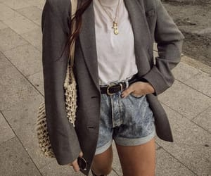 blazer, chic, and fancy image