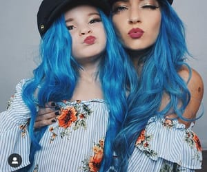 blue, daughter, and girl image