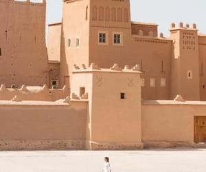 architecture, beige, and moroccan image