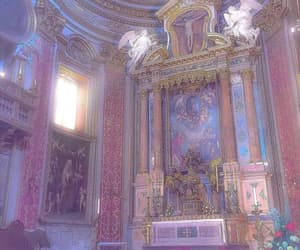 pink, aesthetic, and church image
