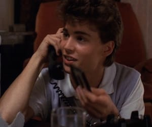 johnny depp, 80s, and telephone image