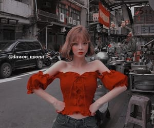 aesthetic, asian girls, and icons image