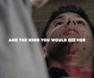dean winchester, gif, and otp image