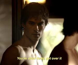 damon, tvd, and funny image