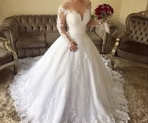 bride, style, and wedding image
