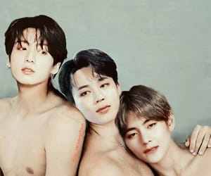 asian, image, and jikook image