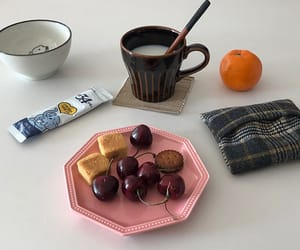 breakfast, cherry, and food image