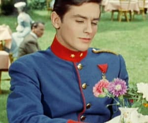 Alain Delon, france, and handsome image