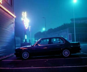 aesthetics, night, and car image