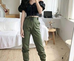 fashion, kfashion, and outfit image