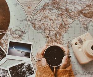 adventure, camera, and coffee image