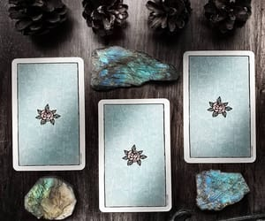 cards, tarot, and wicca image