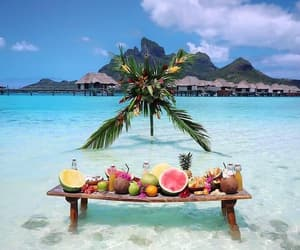 fruit, beach, and summer image