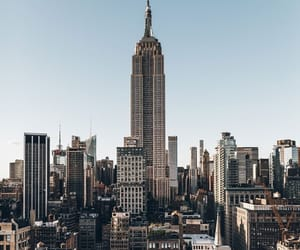 new york, building, and travel image