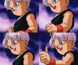 anime, kid, and trunks image