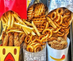 food, delicious, and burger king image