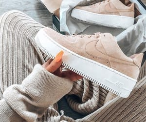 air force 1, beige, and nike image