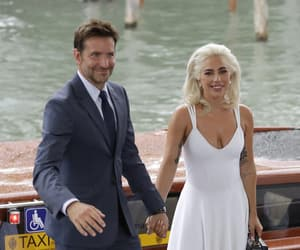 dress, bradley cooper, and Lady gaga image
