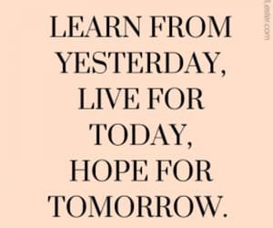 quotes, hope, and learn image