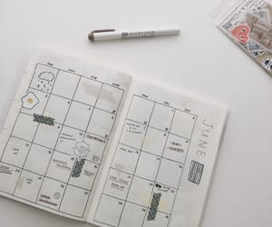 planner, Q, and bujo image