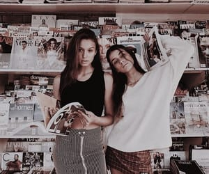 friendship, magazine, and style image