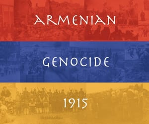 1915, genocide, and armenian image