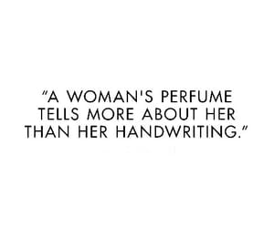quotes, perfume, and woman image