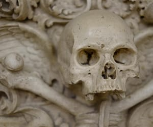 art, cathedral, and death image