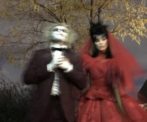 Halloween, bella hadid, and beetlejuice image